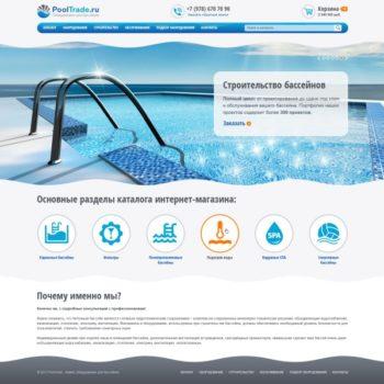 Разработка интернет-магазина товаров для бассейнов