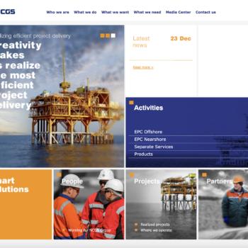Создание сайта для нефтяной компании